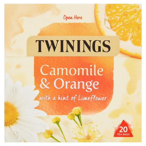 Twinings Chamomile & Orange 20 Tea Bags